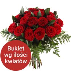 Bukiet 15 róż Telekwiaciarnia
